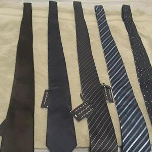 Dressy ties.